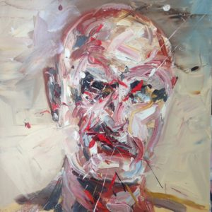 The man next door, 90 cm x 95 cm